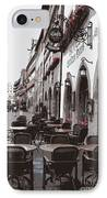 Rothenburg Cafe - Digital IPhone Case