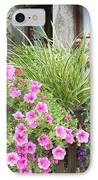 Rothenburg Flower Box IPhone Case