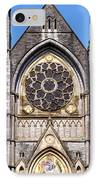 Sacred Heart Church Detail Roscommon Ireland IPhone Case