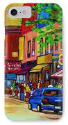 Saint Lawrence Street  IPhone Case