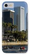 Sculling In Tampa Bay Florida IPhone Case