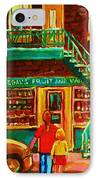 Segal's Fruit And Variety Store IPhone Case