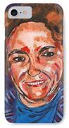 Self-portrait With Blue Jacket IPhone Case