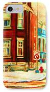 Sherbrooke In Winter IPhone Case