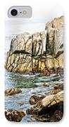 Shores Of Pebble Beach IPhone Case
