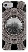 Silver Idyl IPhone Case