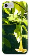 Single Angel's Trumpet IPhone Case