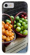 Six Baskets Of Assorted Fresh Fruit IPhone Case