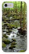 Smoky Mountain Stream 2 IPhone Case