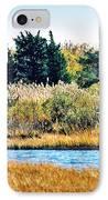 Snowy Egret-island Beach State Park N.j. IPhone Case