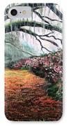 Southern Charm Oak And Azalea IPhone Case