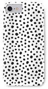 Spots IPhone 8 Case by Rachel Follett