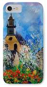 Spring In Foy Notre Dame Dinant IPhone Case