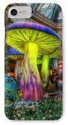 Spring Mushrooms IPhone Case