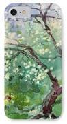 Spring Plum IPhone Case