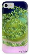 Spring Salad On Glass Plate IPhone Case