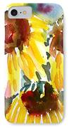 St. Charmand Sunflowers IPhone Case