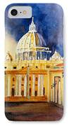 St. Peters Basilica IPhone Case