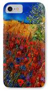 Summer Landscape With Poppies  IPhone Case