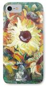 Sun In A Vase IPhone Case