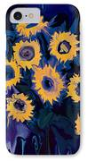 Sunflower 1 IPhone Case