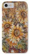 Sunlight Bouquet. IPhone Case