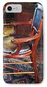 Sunlight On Leather Chair IPhone Case