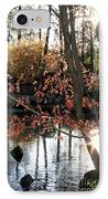 Sunlight Through Japanese Maple IPhone Case