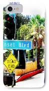 Sunset Blvd IPhone Case