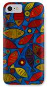 Swimming With The Fishes IPhone Case