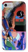 Swinging Trio IPhone Case