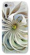 Swirling Petals IPhone Case