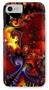 Texture Of Jackolantern IPhone Case