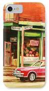The Arcadia Five And Dime Store IPhone Case