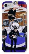 The Beatles - Live On The Ed Sullivan Show IPhone Case