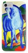 The Blue Horse Franc Marz IPhone Case
