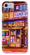 The Brown Derby IPhone Case
