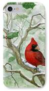 The Cardinal IPhone Case