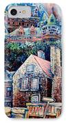 The Chateau Frontenac IPhone Case