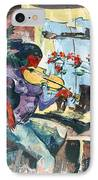 The Color Of Music IPhone Case