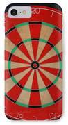 The Dart Board IPhone Case