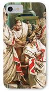 The Death Of Julius Caesar  IPhone Case