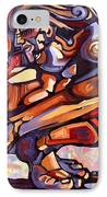 The Distortion Of The Muse IPhone Case