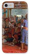 The Finding Of The Savior In The Temple IPhone Case
