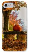 The Last Pumpkin IPhone Case
