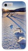 The Long Shadows Of Winter IPhone Case