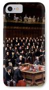 The Lord Chancellor About To Put The Question In The Debate About Home Rule In The House Of Lords IPhone Case