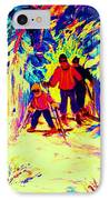 The Magical Skis IPhone Case