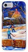 The Neighborhood Hockey Rink IPhone Case