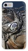 The Night Of The Iguana IPhone Case